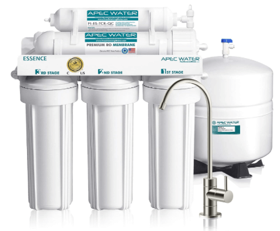 APEC 5-Stage Reverse Osmosis Drinking System