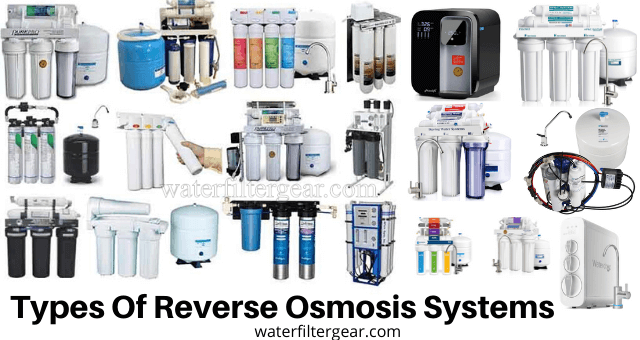 Types Of Reverse Osmosis Systems