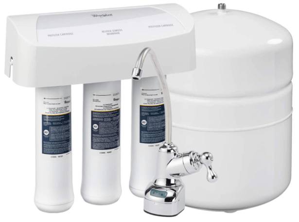 Whirlpool WHER25 Reverse Osmosis (RO) Filtration System