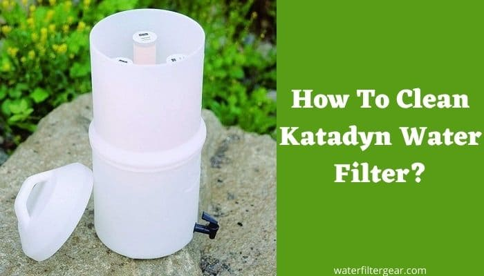 How To Clean Katadyn Water Filter?